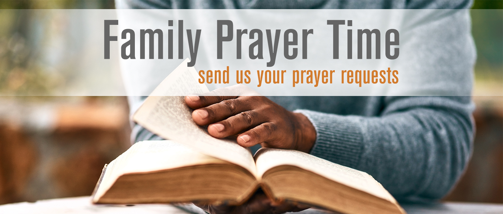 Family Prayer Time