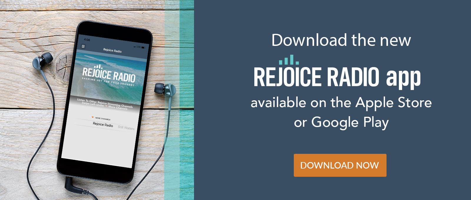 Rejoice Radio App