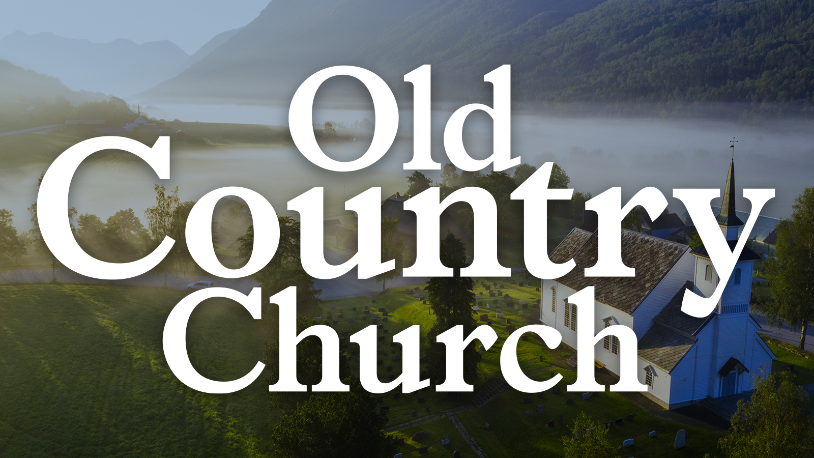 Old Country Church Image